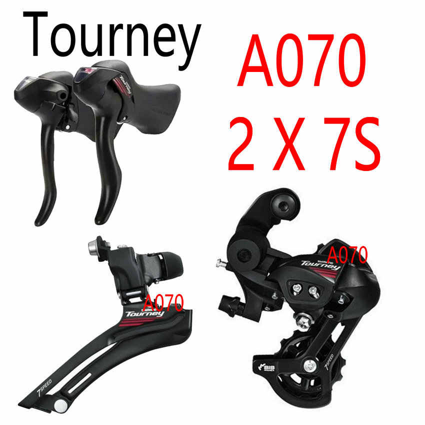 SHIMANO Tourney ST-A070 Left 2-speed STI Lever
