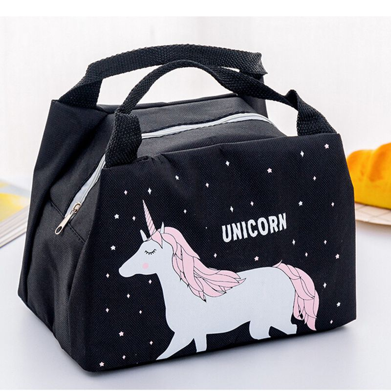 Cute Women Ladies Lunch Bag Girls Kids Portable Insulated Picnic Bag  Box Picnic Tote Cooler /BL1