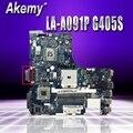 Новая стильная материнская плата для ноутбука lenovo G405S  материнская плата 900003241 LA-A091P DDR3  полностью протестированная