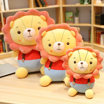 Nice Comftable 1PC 30/45/55CM Cartoon The Lion King Cute Stuff Plush Toy Doll Birthday Gift For Kids High-quality Lion King Doll new simulation lion toy handicraft lifelike lion doll with a small lion in the mouth gift about 50x33cm