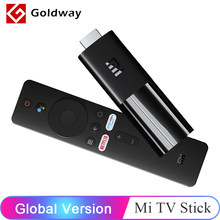 Versão global xiaomi mi tv vara 1gb ram 8gb rom android tv 9.0 inteligente 1080p google assistente bluetooth 4.2 mini tv dongle wi-fi