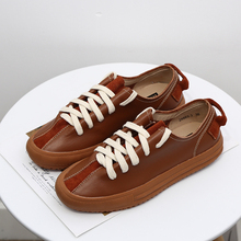 Genuine Leather Women Sneakers Fashion Comfortable Sneakers