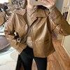 Brown coat