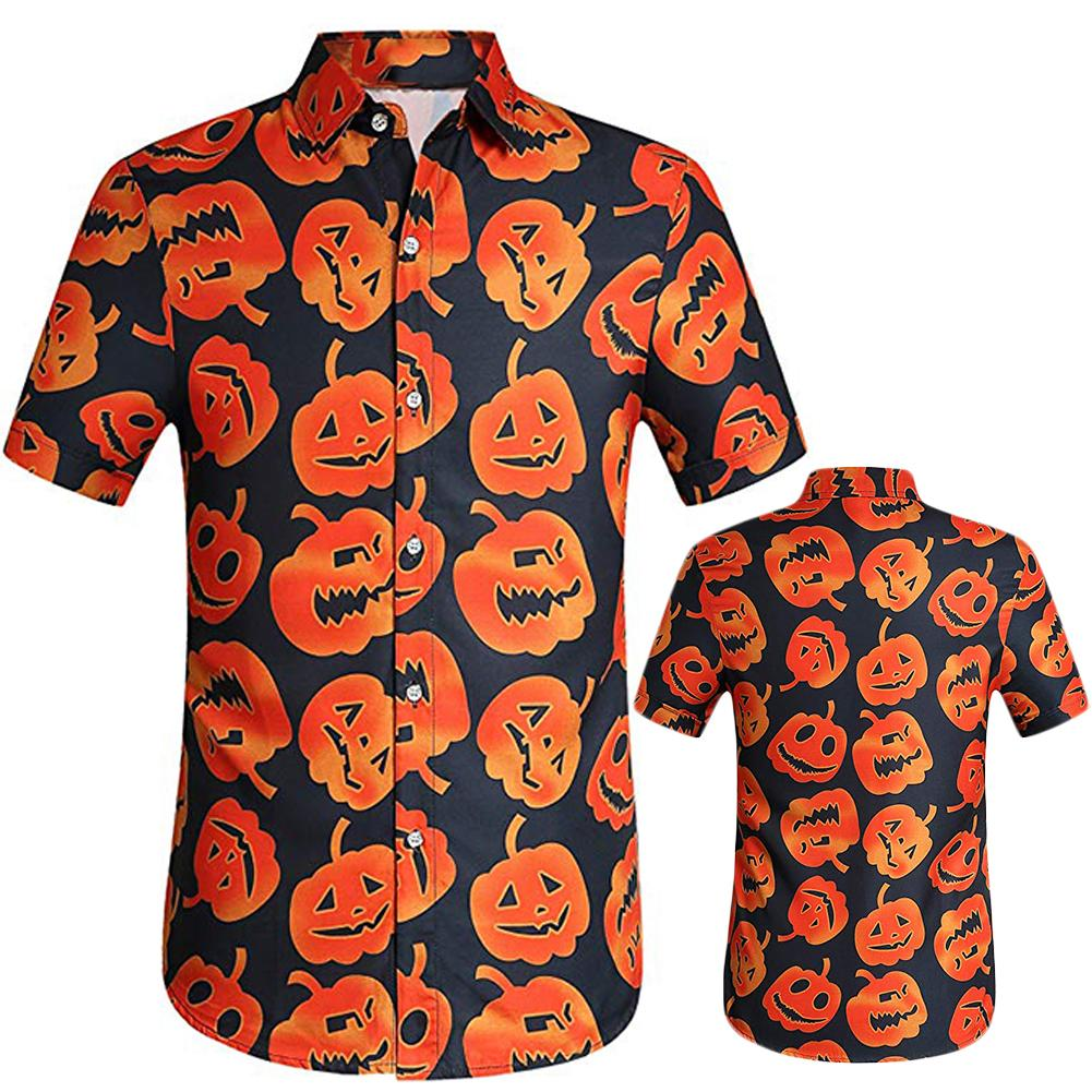 Tootless-Men Printing Beach Short-Sleeve Polo Top Shirt