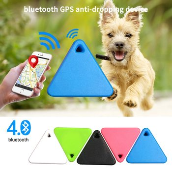 Waterproof Mini Anti-Lost Bluetooth Locator Tracer Pet Smart GPS Tracker For Pet Dog Cat Kids Car Wallet Key Collar Accessories image