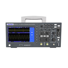 Hantek digital osciloscópio dso2c10 2c15 2d10 2d15 2 canais 100mhz/150mhz armazenamento osciloscopio 1gsa/s taxa de amostra