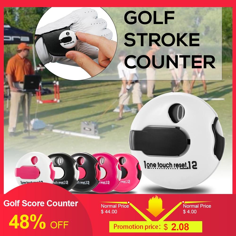 NEW Golf Score Counter Indicator Golf Stroke Counter Mini Score Counter Attachment Scorekeeper Golf Counter Golf Training Aids