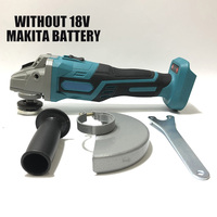 For MAKITA 18V CORDLESS BRUSHLESS ANGLE GRINDER POLISHER Fits 125mm Wheels Without Battery Power Tools