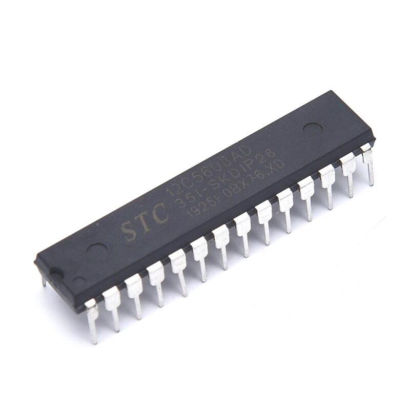 100% Original New In Stock STC12C5608AD-35I-SKDIP28 STC12C5608AD DIP-28