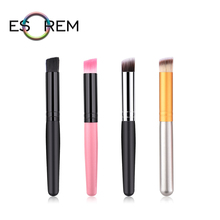 ESOREM Multicolor Hair Cosmetic Foundation Brush Synthetic Wood Handle Makeup Brushes Shader Pinceaux Maquillage M-01-026