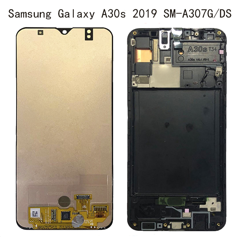 AAA For Samsung-galaxy A30s 2019 SM-A307G/DS A307FN Display Screen Digitizer Touch Panel Glass Assembly Replacement