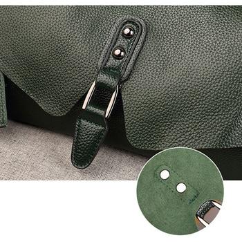 Shell Genuine Leather Crossbody Bag 5
