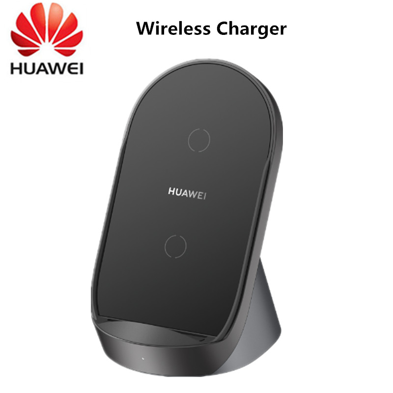 Huawei Super Charge Wireless Charger CP62 40W Desktop Stand Car Charger for P40 Pro Plus Mate30 Matepad P30 Pro S20 Ultra S10