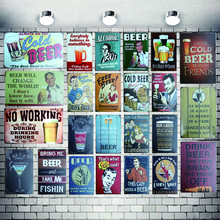 Cocktail Tin Signs Drink Metal Plate  Wall Pub Shop Restaurant Cafe Home Art Decor Vintage Iron Poster Cuadros 5559A