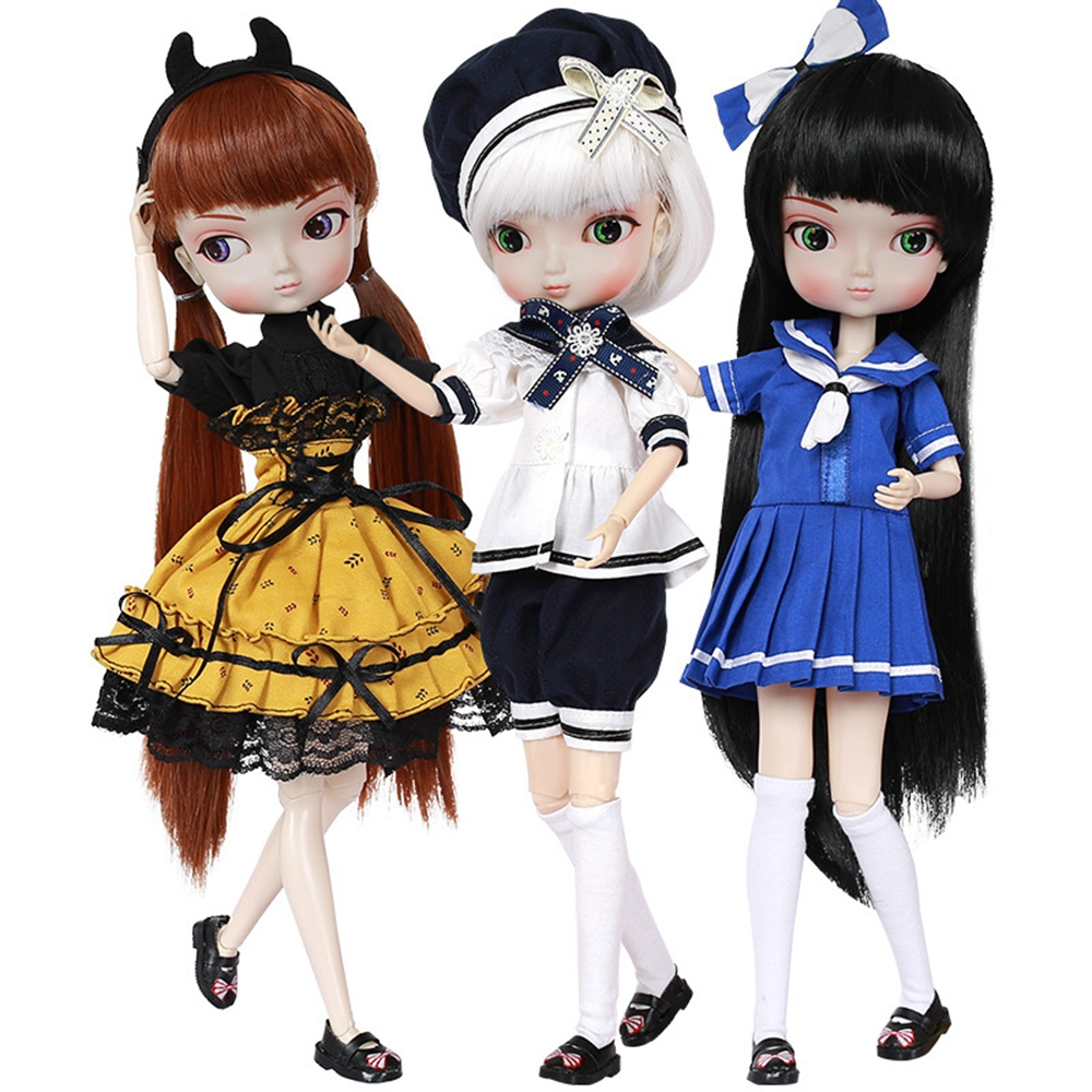 35cm 1/6 Bjd Sd Bbgirl Doll Toys High Quality Joints Dolls Diy Girl Dolls Toys Birthday Gifts For Child Children