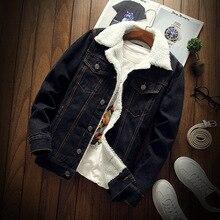 Fashion Winter Jacket Men Vintage Black Color Velvet Thick Casual Coats Cashmere Warm Parka Bomber Jackets Hombre Size S-6XL