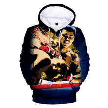 Casual Hip Hop Muhammad Ali 3D Hoodies Men women Harajuku Plus size Muhammad Ali 3D Men's Hoodies Sweatshirt tops 2020 pop