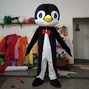 Image 2 - Yetişkin yenilikler hayvan maskot kostüm beyefendi penguenler maskot kostüm karikatür karakter Mascotte süslü elbise karnaval kıyafetler