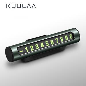 KUULAA Number-Holder Telephone Parking-Card Mobile-Phone-Number-Plate Auto-Park Temporary