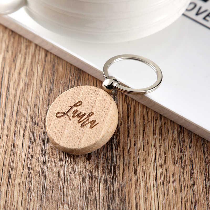 Porte-clés en bois avec noms de mariage | Porte-clés gravé personnalisé en bois, porte-clés en forme de cœur, cadeaux personnalisés pour cadeau de mariage