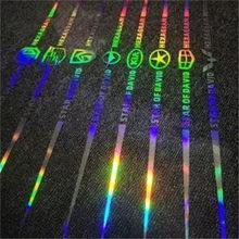 Laser reflexivo adesivos de carro colorido decorativo adesivos de carro modificado criativo corpo do carro guirlanda frente e traseira de vidro adesivos