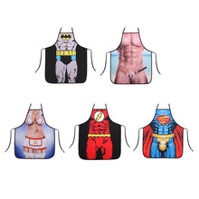 Kitchen Personalized Digital Printed  Funny Apron Man BBQ Cleaning Cooking Apron Daily Home Pinafore Cooking Baking Party Apron rainbow unicorn waterproof cooking baking apron