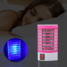 Led-Lamp Anti-Mosquito-Trap Insect Killer USB Electric Night-Light Flies Eu-Plug No-Radiation