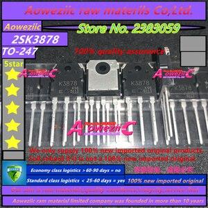 Image 2 - Aoweziic 2020 + 100% 신규 수입 원본 K3878 2SK3878 TO 247 N 채널 MOS 유형 스위칭 레귤레이터 애플리케이션 9A 900V