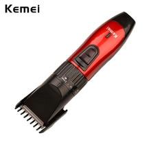 Kemei Professional Hair Clipper Rechargeable Hair Cutting Machine Electric Shaver For Men Beard Trimer Barber Haircut 220-240V цены
