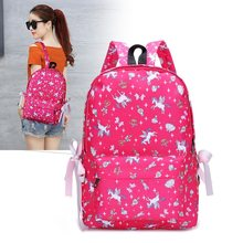 New Large schoolbag cute Student Backpack Girl School Bag For Teenagers Junior High Student school Bagpack(China)