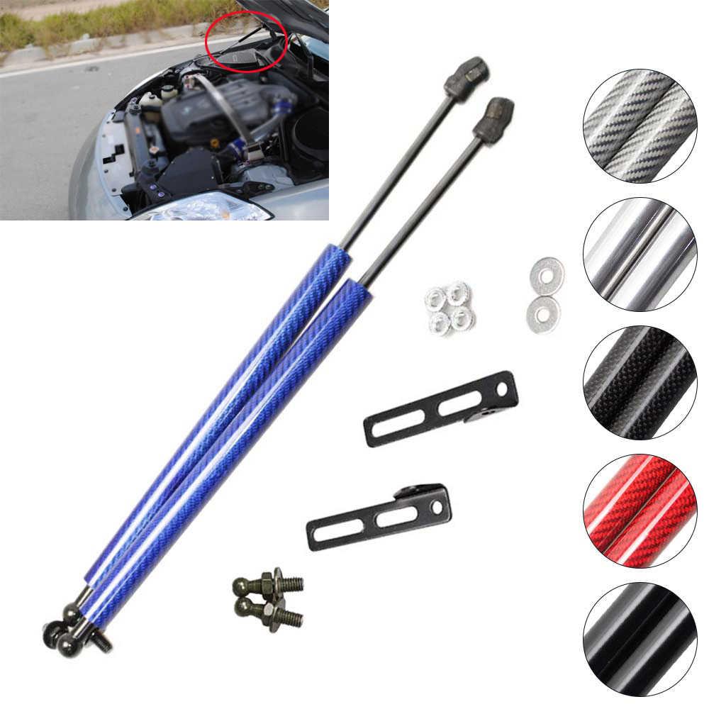 N//A 2Pcs Front Bonnet Hood Damper Modify Carbon Fiber Gas Struts Lift Support Shock Accessories Absorber for NISSAN 350Z