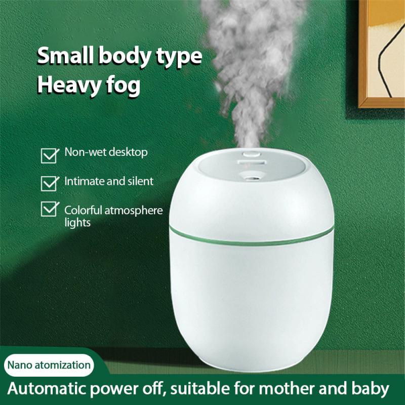 Usb Tragbare Luftbefeuchter Ätherisches Öl Diffusor Luft Freash Mit LED Nacht Lampe Für Home Auto Fogger Nebel Maker Gesicht dampfer