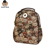Danny Bear Camouflage Bagpack Travel Backpack Fabric Student Casual Bag College Vintage School Bag Fashion DTB9915521-032 рюкзак danny bear danny bear mp002xg006i1
