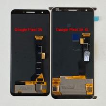 "Original Supor AMOLED M & Sen 6.0 ""สำหรับ Google Pixel 3A XL หน้าจอ LCD + Digitizer แผงสัมผัส 5.6"" สำหรับ Google Pixel 3A"