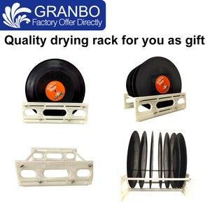 Image 5 - Granbo Vinyl Record Aluminum alloy Bracket Vinyl Ultrasonic Cleaner Digital With Degas 6.5L For 6RPM motor LP CD needle tracks