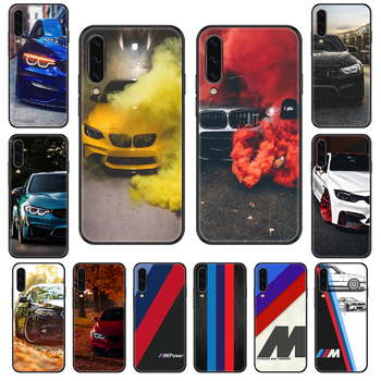 cool Car bmw Phone case For Samsung Galaxy A 3 5 8 9 10 20 30 40 50 70 E S Plus 2016 2017 2018 2019 black tpu waterproof art image