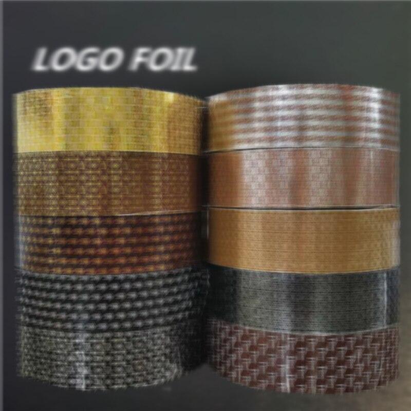 10pcs 4*100m Logo Nail Foils Transfer Foil Paper Stickers