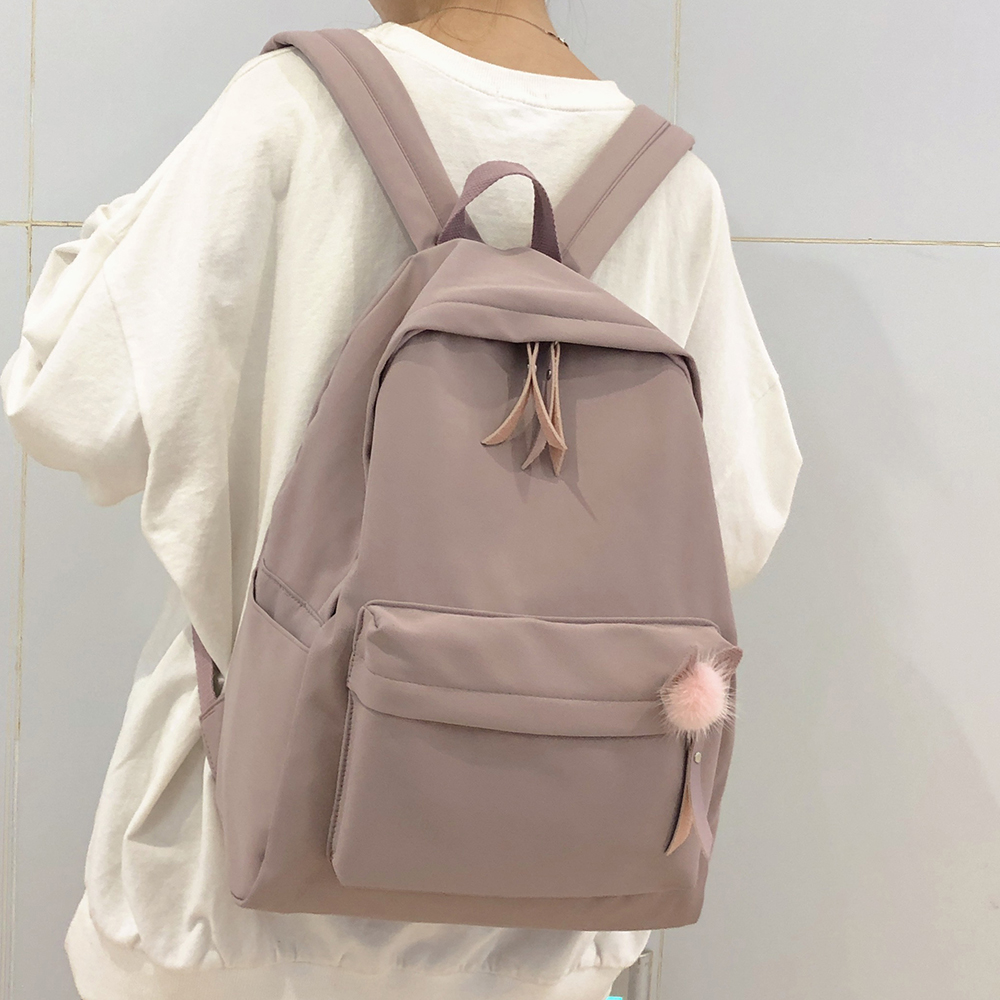Female Vintage Cute Backpack Women School Bag Girl Waterproof Nylon Kawaii Backpack Ladies Luxury Student Bags Book Harajuku New