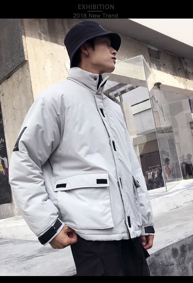 Men's Quality Student Winter Clothes Jacket Men Parka Thick Warm Outwear Korean Youth Streetwear Hip Hop Japan Style Harajuku 31