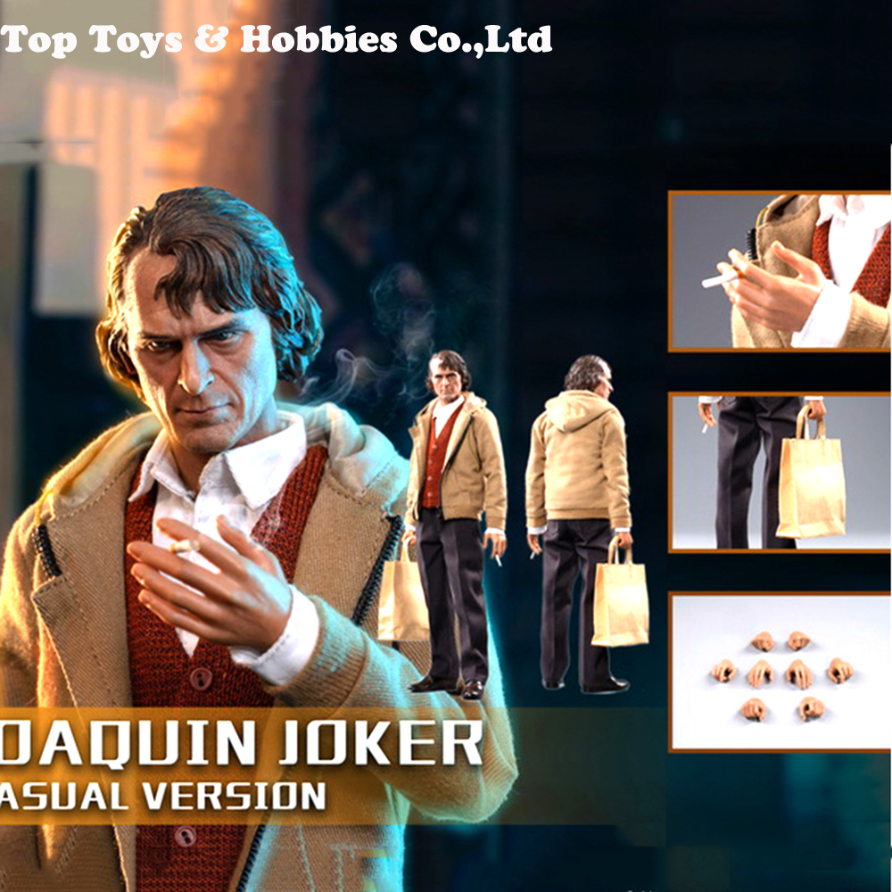 In Stock MTOYS MS008 1/6 ClownThe Joker Arthur Fleck Joaquin Casual Wear Ver. Figure Toy 12