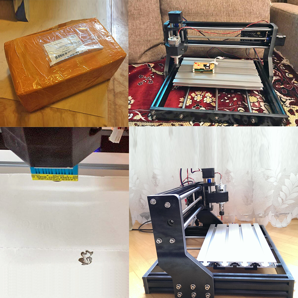 CNC 3018 Pro Offline Laser Engraver for Wood/PCB/Metal with 3D Printing 1
