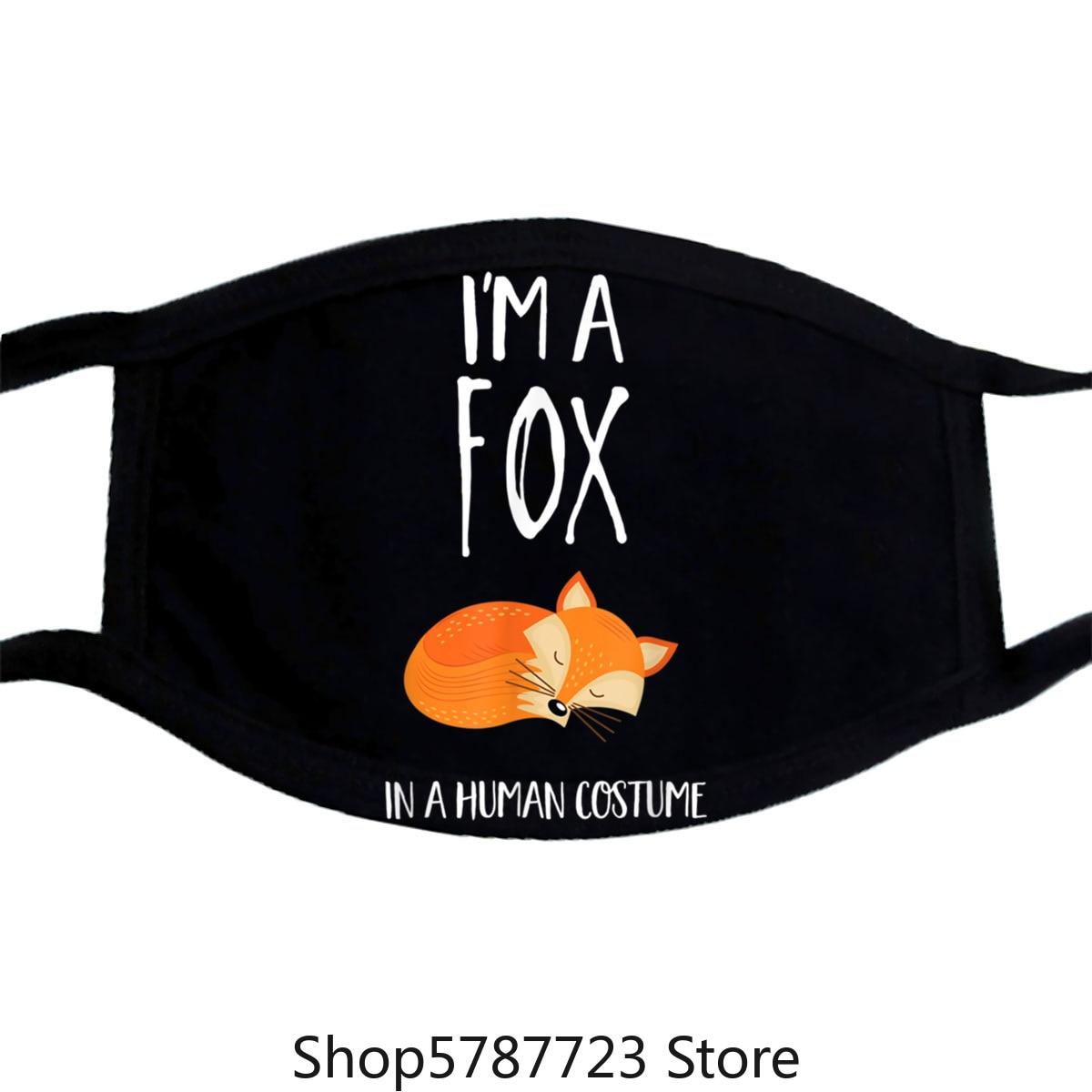 Im A Fox In A Human Costume Mask