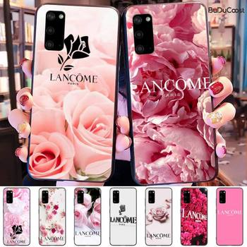 French Cosmetics Lancome Flower Phone Case For Samsung Galaxy S9 S10 S10E S6 S7 S8 S9 S9Plus S5 S20 image