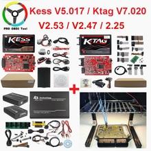 Master Online EU Red Kess V2 V5.017 V2.53 Ktag новейший V2.25 без жетонов ограниченный ЭБУ чип Тюнинг Ktag V2.23 ЭБУ программист