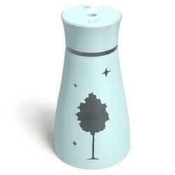 Ultradźwiękowy nawilżacz powietrza zapach aromat niezbędne klon olej z liści dyfuzor do domu samochodem generator pary usb Mist Maker z Led lampka nocna|Nawilżacze powietrza|   -