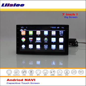 Liislee Car Android GPS NAVI Navigation System For Nissan Pathfinder R51 2006~2010 Radio Stereo Multimedia Video ( No DVD Player image