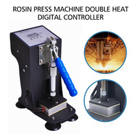 Mini Double Heat Aluminum Plate Heat press Machine Sublimation Heat Machine Rosin Press Machine Sublimation Printer Embossers
