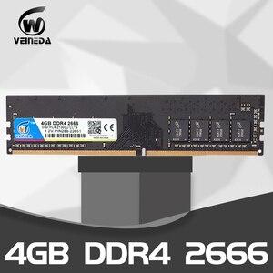 Image 2 - Ram ddr4 4g 8gb 2133 2400 2666 mhz 1.2v placa mãe de canal duplo ddr 4 dimm memória compatível todos intel amd desktop