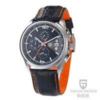 Pagani design relógio de pulso masculino  relógio de pulso esportivo e casual de quartzo para mergulho até 30m PD-3306