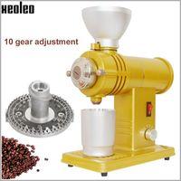 XEOLEO Electric Coffee grinder 200W ghost tooth Flat Wheel Burr grinder Anti burn Coffee miller Coffee milling machine 100 160rp Electric Coffee Grinders     -